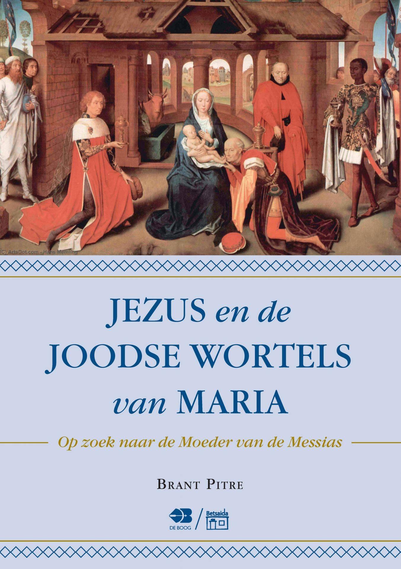 kaft Jezus en de joodse wortels van Maria - website